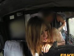 Sweet teen fucked hard in Fake Taxi